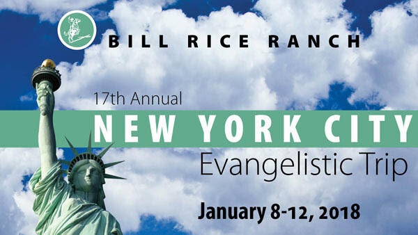 Missions Trip: New York City Evangelistic Trip