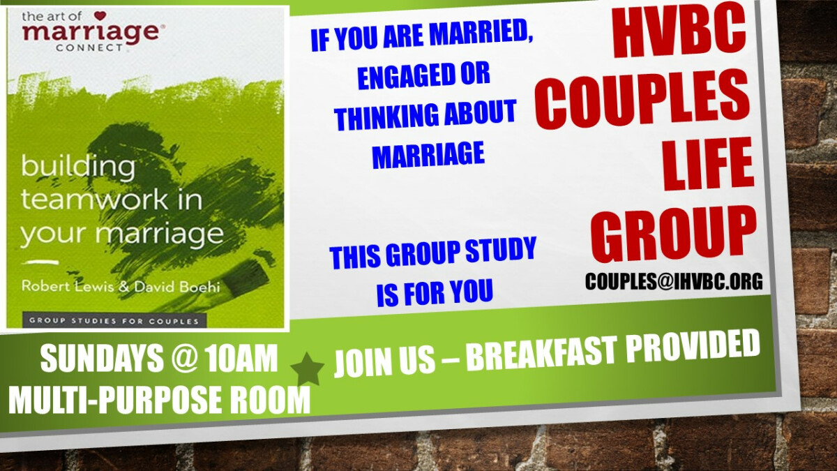 HVBC Couples Life Group