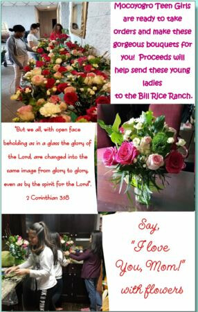 Mothers'Day Fund Raising for BRR Girls Camp