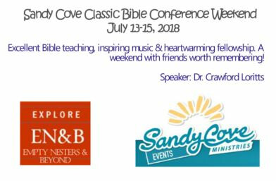 Sandy Cove Classic Bible Conference Weekend