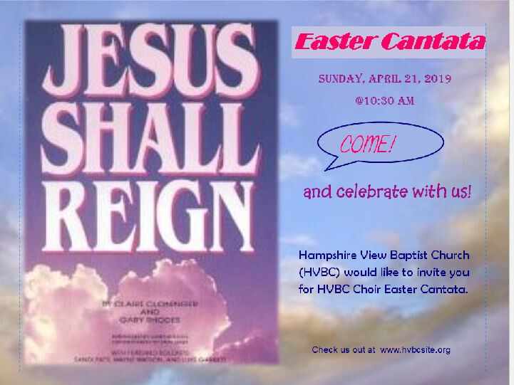 Easter Cantata - Jesus Shall Reign