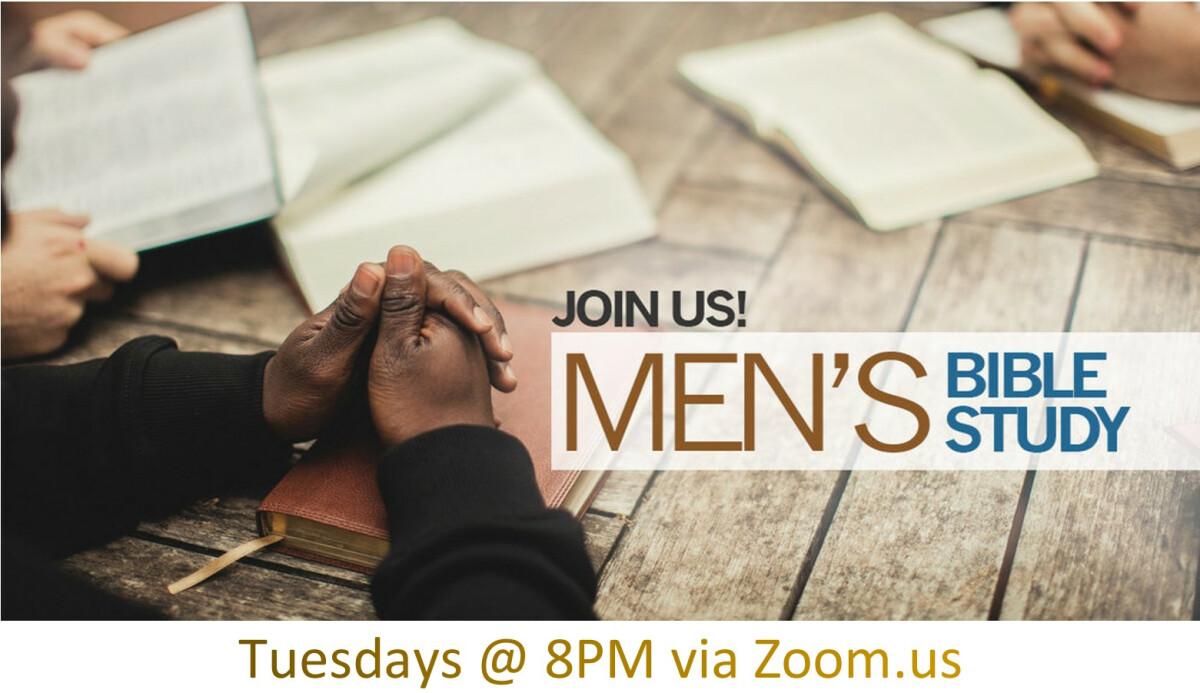Virtual Men's Bible Study